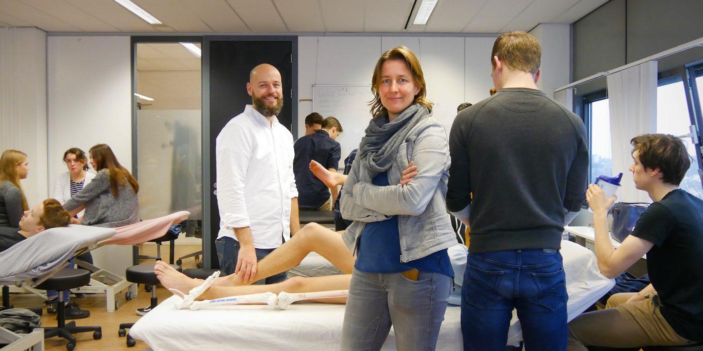 Fysiotherapie kreeg ook de kritische docenten achter het nieuwe leerplan